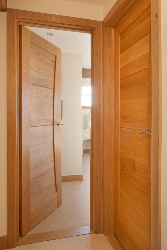 Oak doors for Door architrave